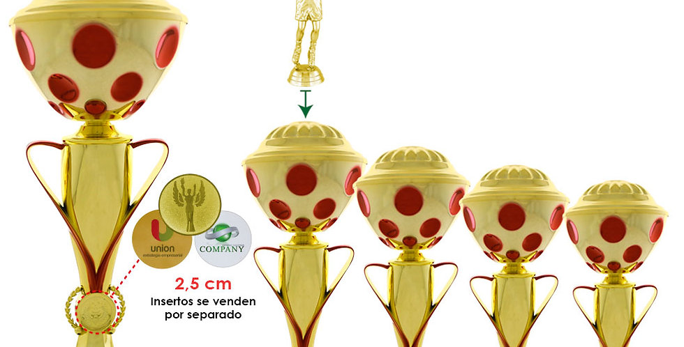 Trofeos económicos en Quito