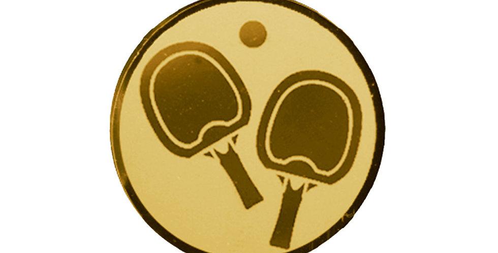 Insertos deportivos de ping pong