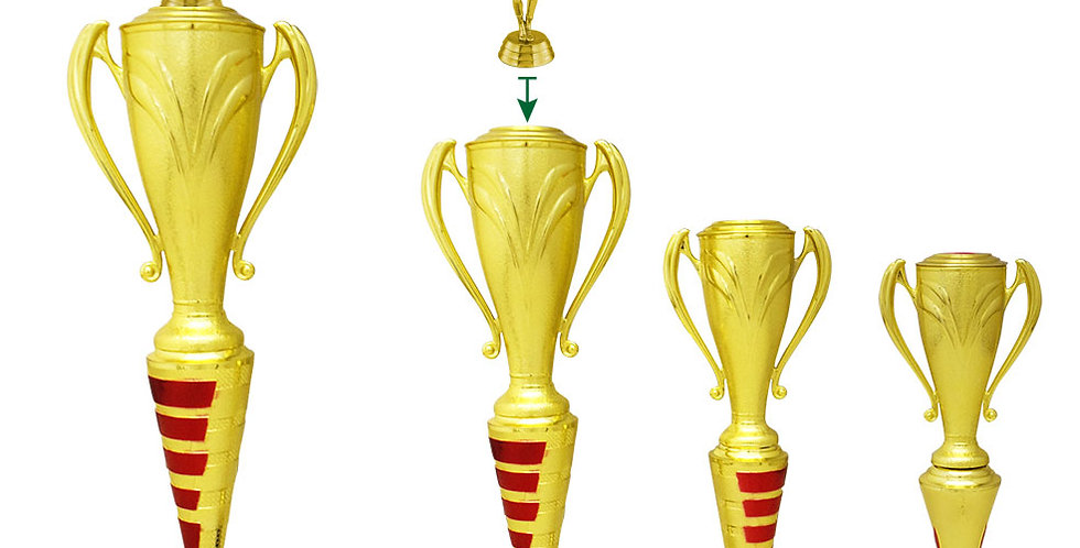 Trofeos de futbol en Quito