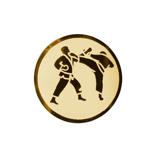 Inserto para trofeo de karate