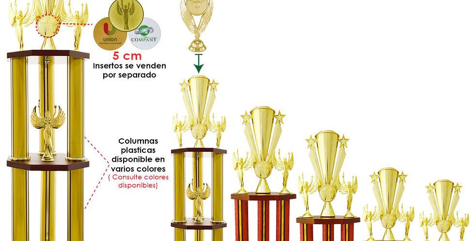 Trofeos para campeonatos de futbol en Quito