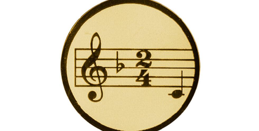 Insertos para trofeo de musica