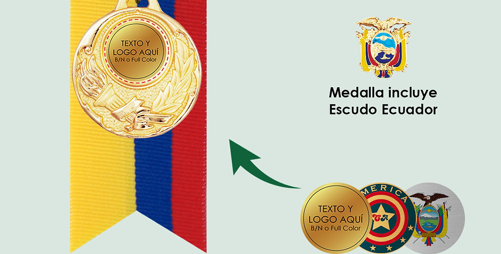 Medallas económicas en Quito
