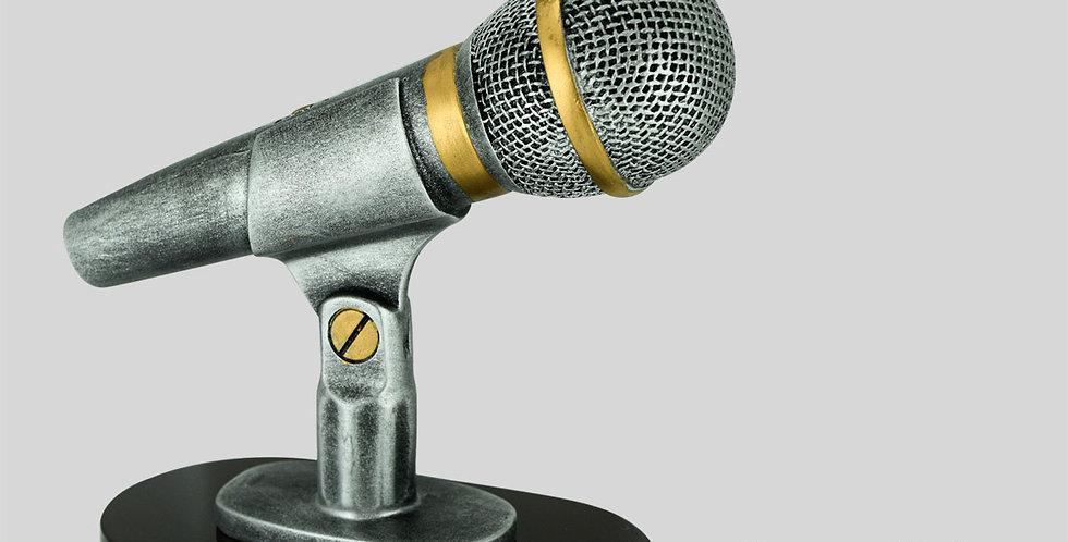 Resina Micrófono