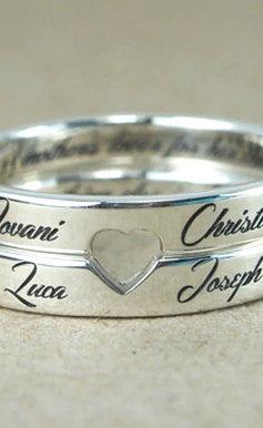 Grabación de anillos