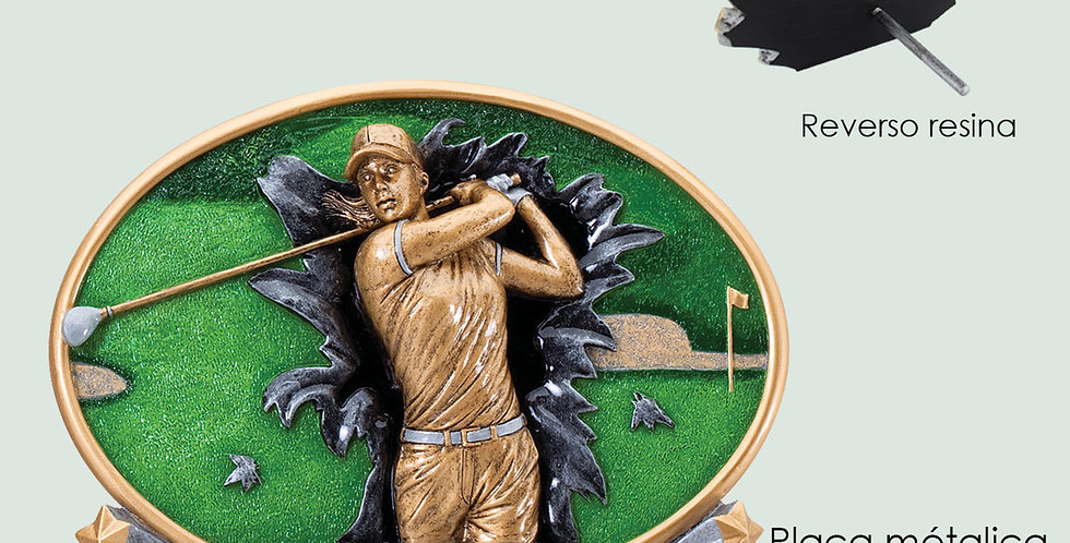 Resina 3D Golf Femenino