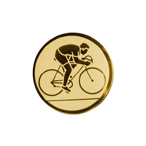 Inserto para trofeo de ciclismo