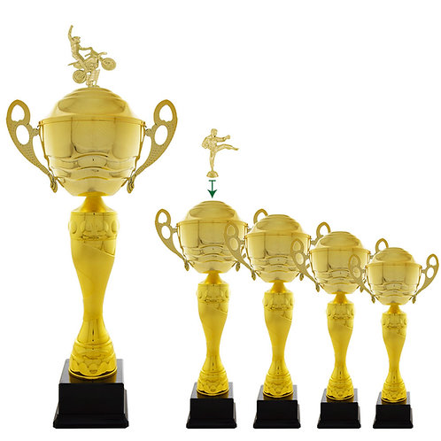 Copas y trofeos en Quito