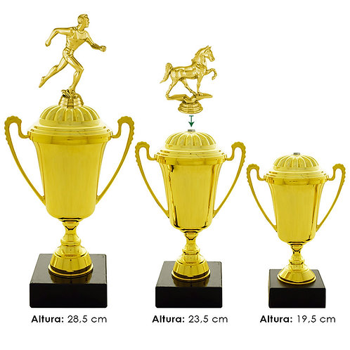 Trofeos deportivos en Quito