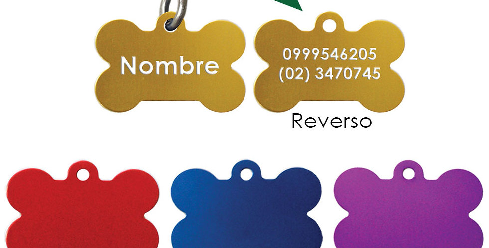 Placas para mascotas en Quito