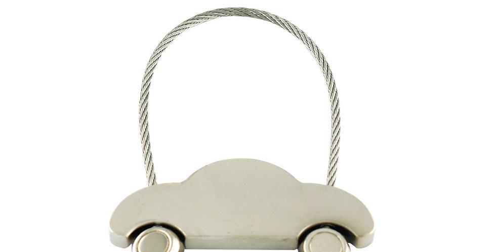 Llavero Metálico Carro