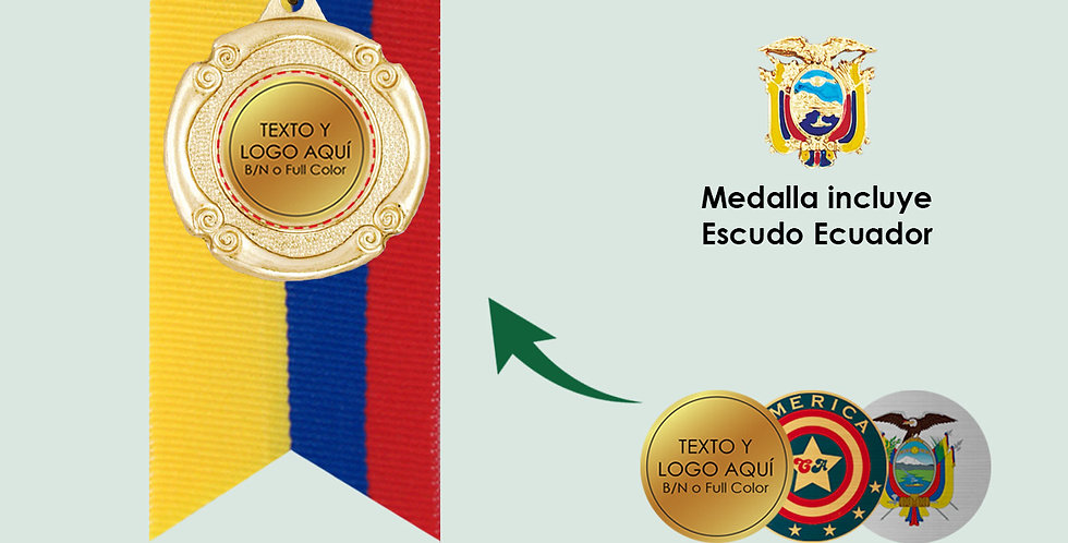 Medalla KITMED41C