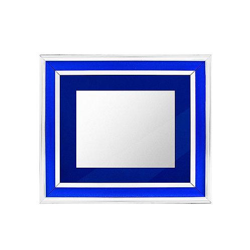 Marco especial azul