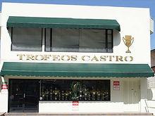 Local Trofeos Castro, Trofeos deportivos en Quito