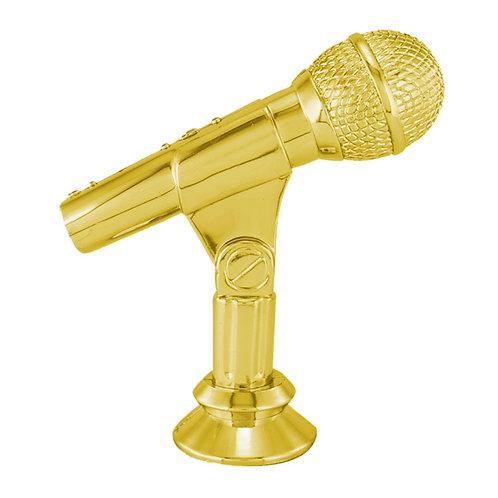 Figuras para trofeos, Trofeos de música, micrófono