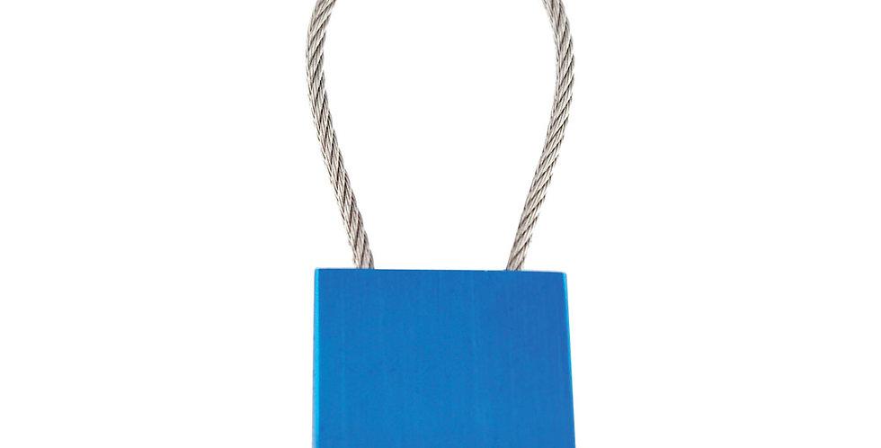 Llavero Metálico Azul