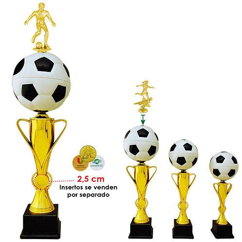 Trofeo Balón Bicolor