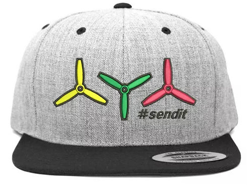 Got props?#SENDIT FPV Pilot Snapback Hat