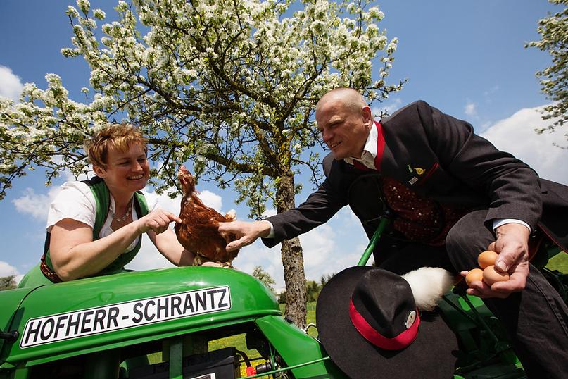 Lieglhof Familie Zarl Freilandeier 7