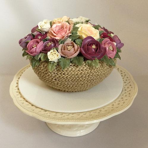 Flowers Basket Cake