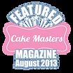 Cake Masters Magazine August 2013