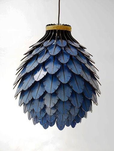 Luminria Ararinha Azul