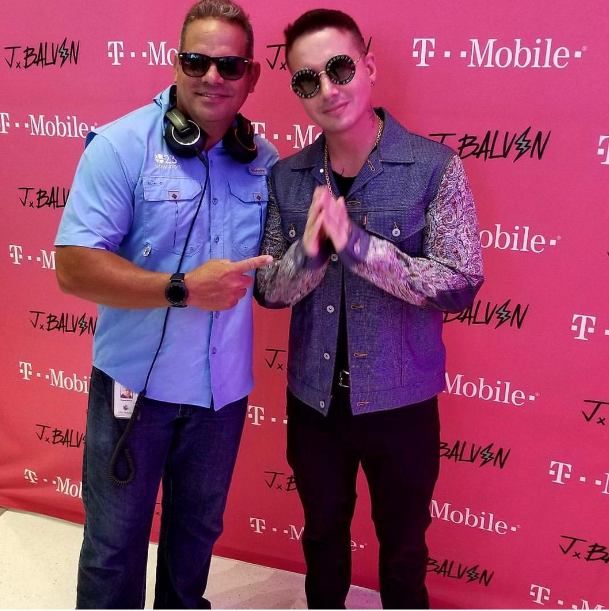 DJ Mani and J-Balvin