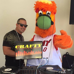 Crafty and Heat Mascot