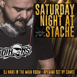 Saturday night at Stache Main- Hous