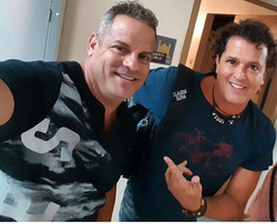 DJ Mani and Carlos Vives