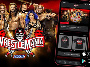 WWE Launches the WrestleMania Mobile App