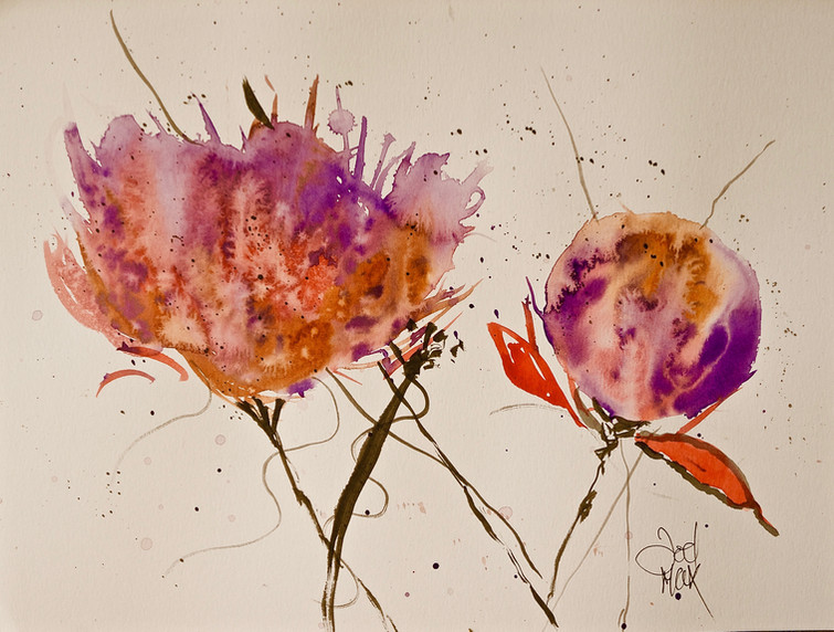 Bursting Dandelion