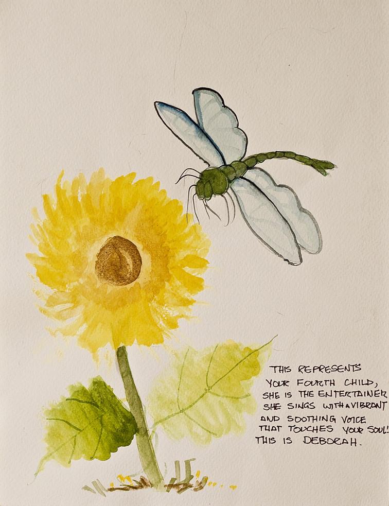Sunflower Firefly/SOLD