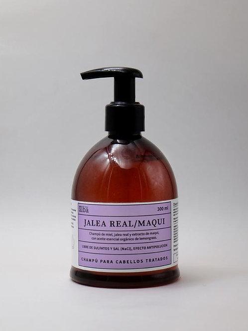Champú sin sulfato jalea real- maqui 300 ml