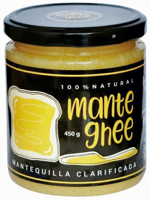 Mantequilla clarificada. mante ghee 450g