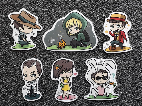 LITV Chibi Sticker collection