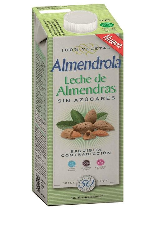 Alimento líquido de almendra sin azúcar 1 L