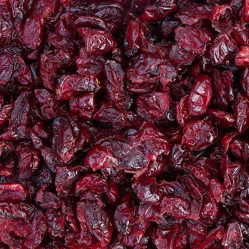 Cranberries sin azúcar añadida