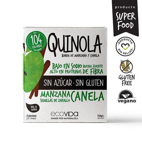 Barras de quinoa sin azúcar, sin gluten (30g)