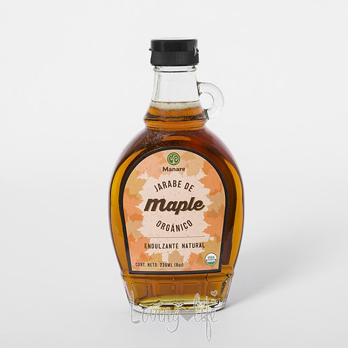 Jarabe de maple orgánico (260 ml)