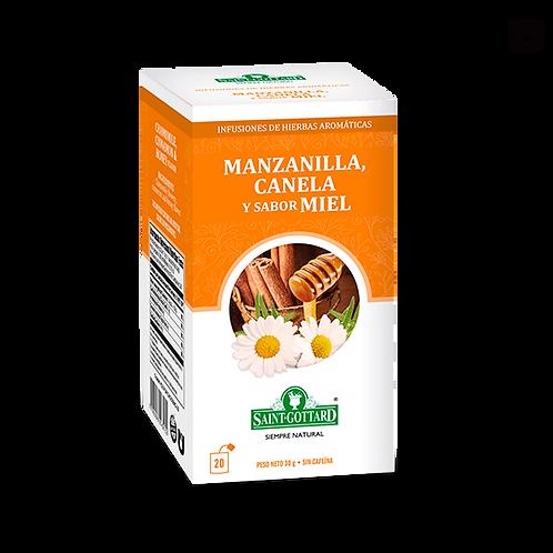 Manzanilla, canela y sabor miel Saint Gottard