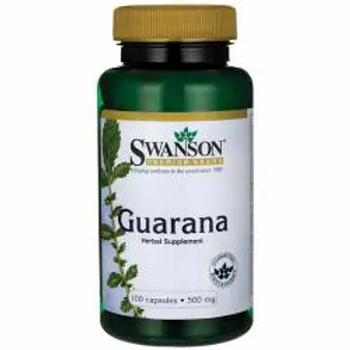 Swanson Guaraná 100 cápsulas