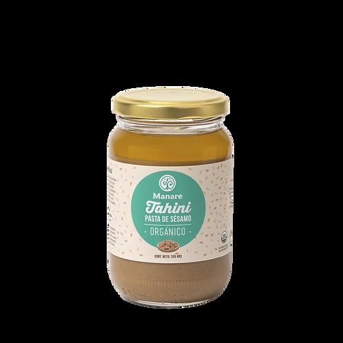 Mantequilla de sésamo orgánica (tahini) 330 gr