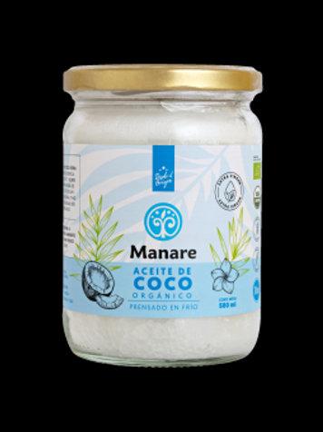 Aceite de coco orgánica (500 ml)