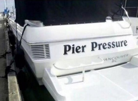 punny boat names
