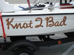 Hilarious boat names