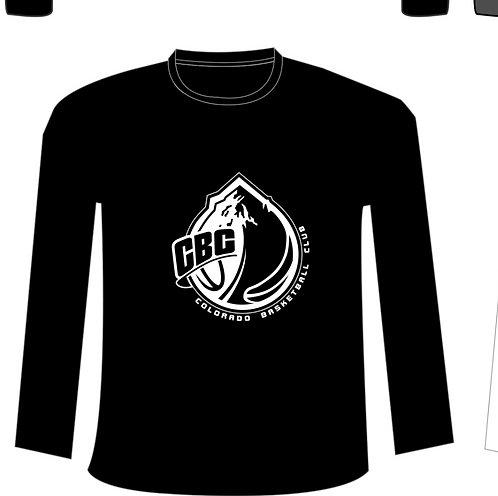 Long Sleeve Cotton T-shirt - Std CBC Logo