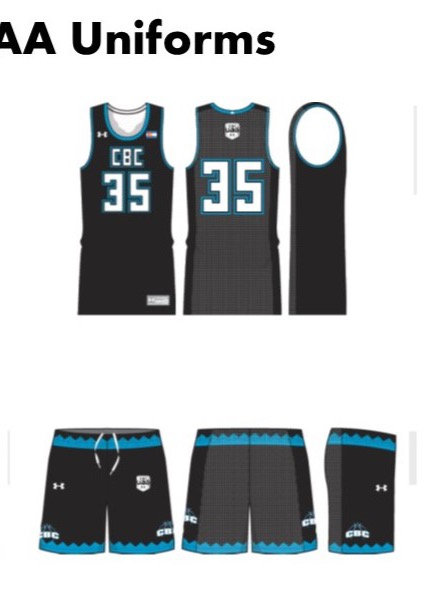 UA CBC Away Uniform