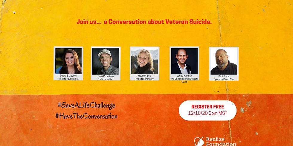 Conversation about Veteran Suicide