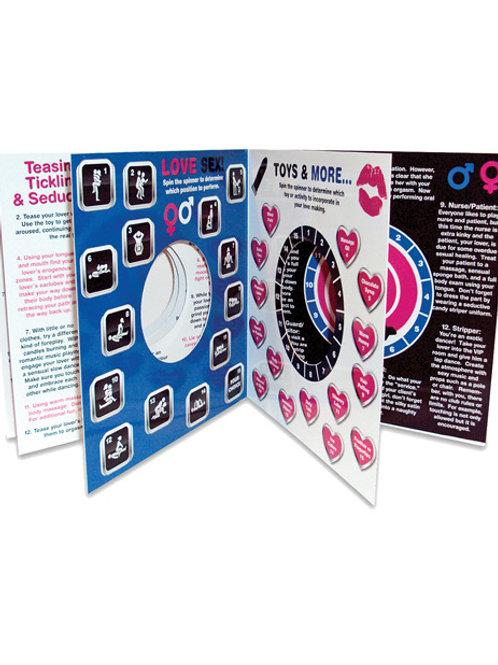 Bedroom Spinner Game Book